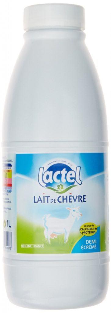 lait de chèvre lactel