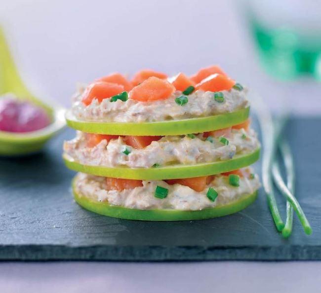 recette à base de saumon