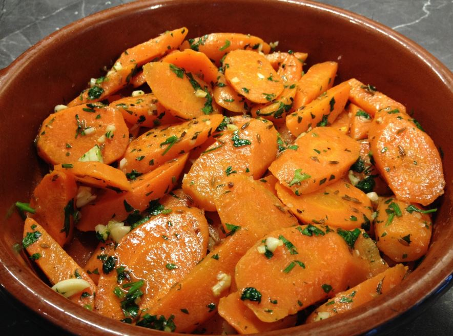 recette decarottes marocaines pour apéro léger