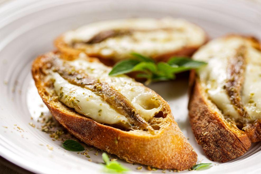 recette de crostini de sardine