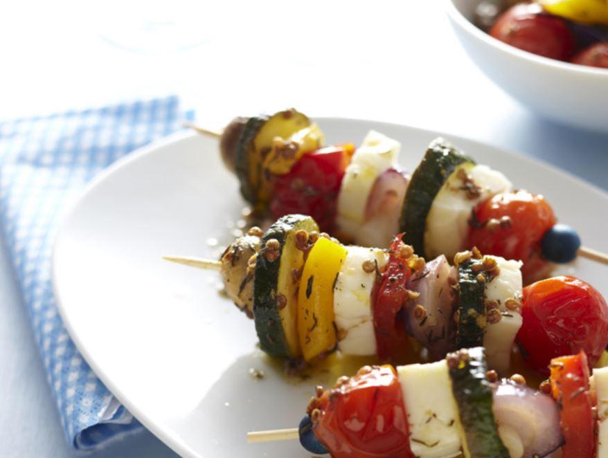 brochettes de légumes pour apéro léger