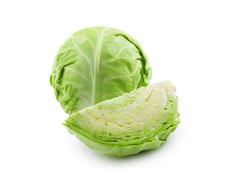chou vert aliment à calories négatives