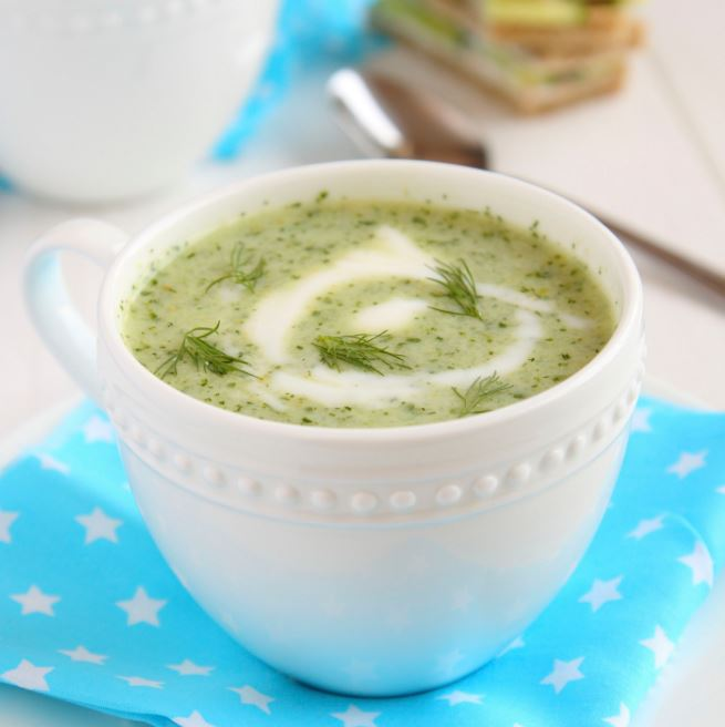 recette de soupe au concombre