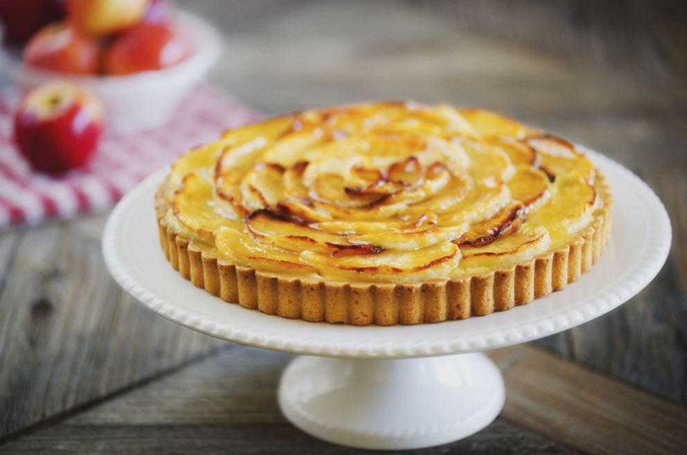 recette de tarte aux pommes à l'alsacienne