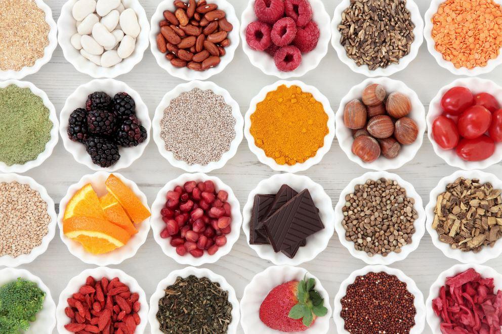 sources d'antioxydants