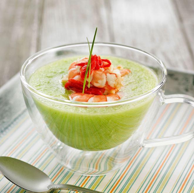 recette de soupe de concombre