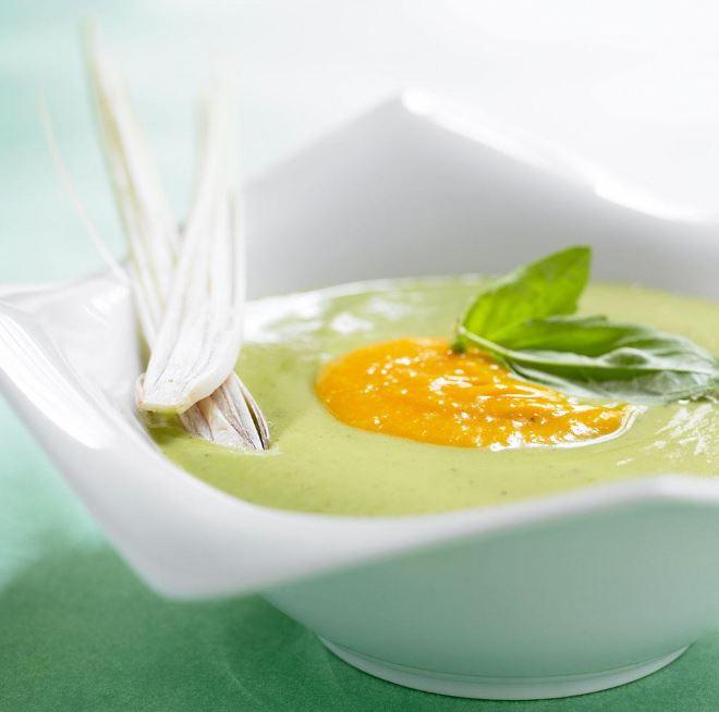 recette de soupe glacée à la crème