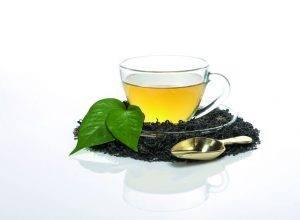 boire du thé vert en hiver