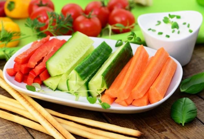 Manger plus de crudités pour perdre du poids